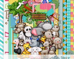 Kit Baby Zoo Pathy Design