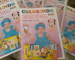 Kit colorir Baby Disney