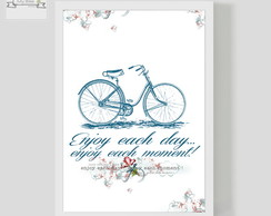 Poster Decorativo Bike Enjoy
