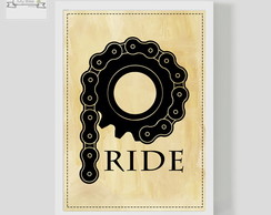 Poster Decorativo RIDE