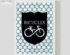 Poster Decorativo Bicycles