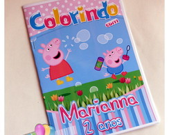 Revista Colorindo Peppa Pig