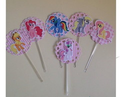 Topper para Doce My Little Pony