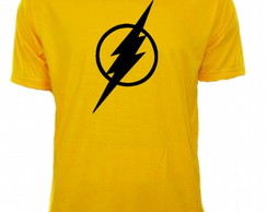 Camiseta Amarela Flash 02