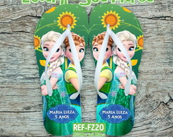 Chinelo Infantil Frozen Fever