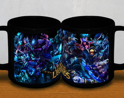 CANECA PRETA LEAGUE OF LEGENDS 2