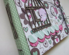 Álbum scrapbook Sweet Bird