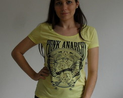 Blusa punk anarchy