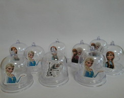 Mini Cúpulas com Aplique Frozen