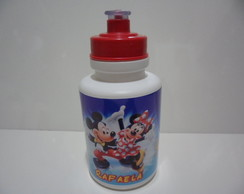Squeeze Branco 350ml Mickey e Minnie