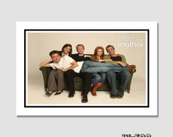 Quadro 60x40cm How I met Your Mother