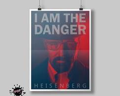 Pôster Breaking Bad - I am the danger