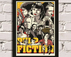 Poster com Moldura Pulp Fiction