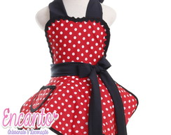 Avental Infantil Minnie