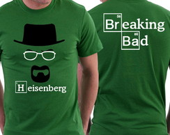 Camiseta - Breaking Bad - Heisenberg
