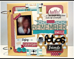 Álbum Scrap Remember