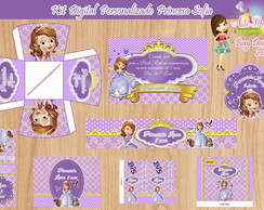 Kit Digital Personalizado Princesa Sofia