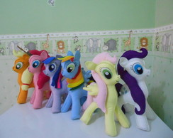 Kit Bonecas Turma My little pony