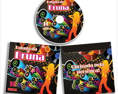 DVD CD + Envelope Balada Teen