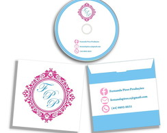 DVD CD + Envelope Personalizado