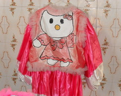 Fantasia de Clóvis Hello Kitty