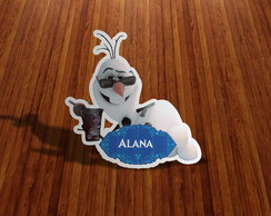 ARTE DIGITAL- Olaf Frozen Nome