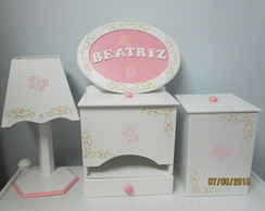 Kit Higiene Mdf Beatriz