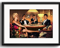 Quadro Marilyn Monroe JamesDean Paspatur