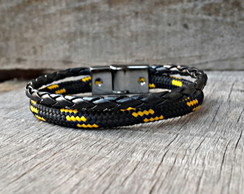 Pulseira Nylon Magnetic Black