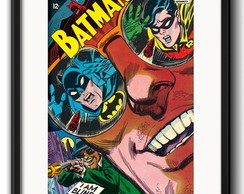 Quadro Batman Robin Comics com Paspatur