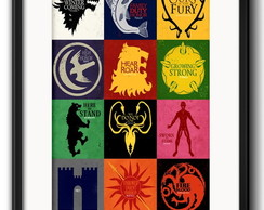 Quadro Game Of Thrones com Paspatur