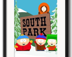 Quadro South Park com Paspatur