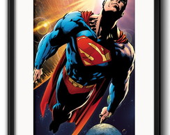 Quadro Superman Comics com Paspatur