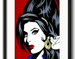 Quadro Amy Winehouse com Paspatur
