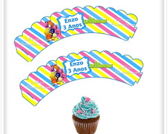Wrappers para Cupcake Backyardigans
