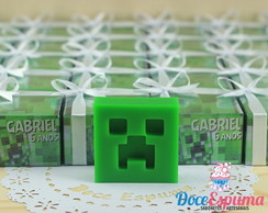 Sabonete Minecraft Creeper