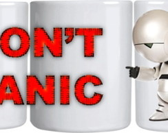 Caneca - Marvin - Don't Panic