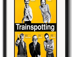 Quadro Filme Trainspotting com Paspatur
