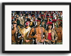 Quadro Filme Warriors com Paspatur