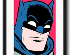 Quadro Batman Pop Art com Paspatur