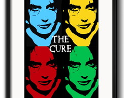 Quadro The Cure Pop Art com Paspatur