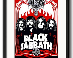 Quadro Black Sabbath com Paspatur