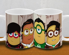 CANECA MINIONS - big bang theory