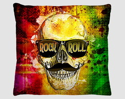 Capa de Almofada Rock and Roll