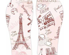 Chinelo Personalizado, estampa Paris