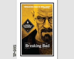 Quadro 60x40cm Seriados Tv Breaking Bad