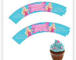 Wrappers Cupcake Barbie Portal Secreto