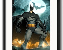 Quadro Batman Comics com Paspatur