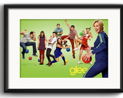 Quadro Glee Serie TV com Paspatur
