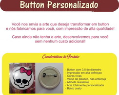 Button Boton Botton Personalizado 3,5 Cm